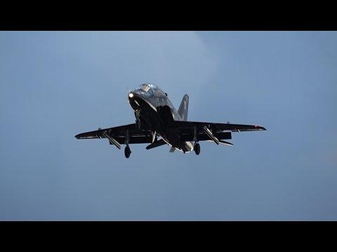 Loud BAE Hawk Landing & Takeoff
