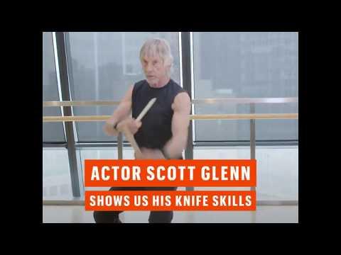 Esquire Scott Glenn s Off His Knife Skills