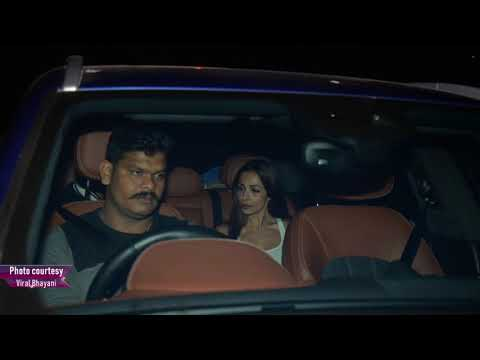 Watch: Malaika-Arjun spotted after a dinner date Mp3