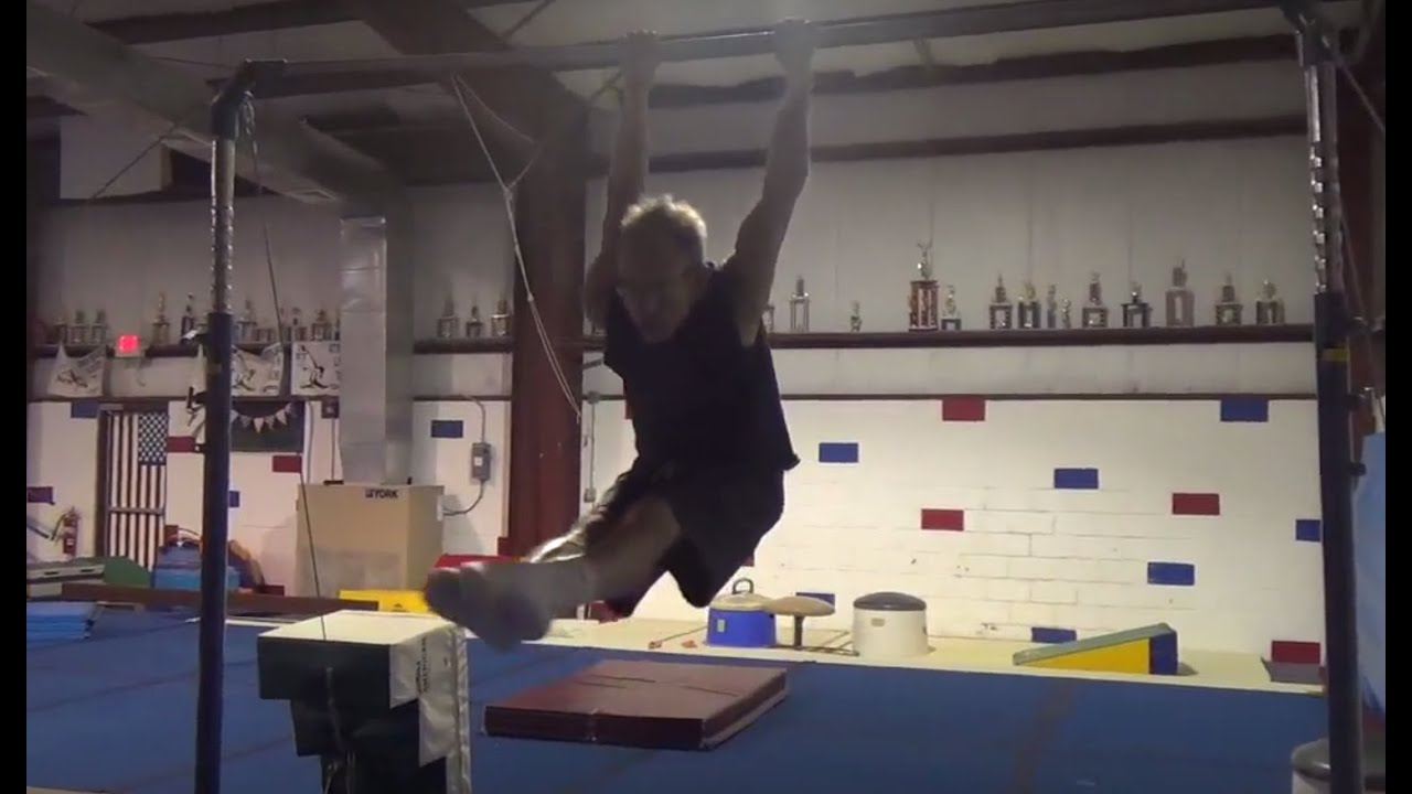 HOW TO SWING IN GERMAN GRIP ON BARS - TUTORIAL - Gymnastics Men\'s ...