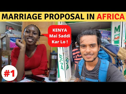 Marriage Proposal & 1st Day in Kenya (Africa)
