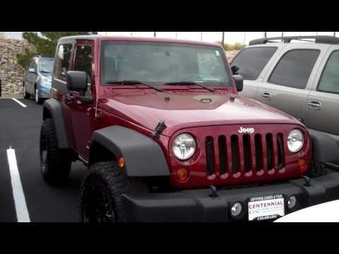 2010 jeep wrangler unlimited 4x4 best suvs for sale denver colorado youtube. Black Bedroom Furniture Sets. Home Design Ideas