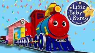 Learn Colors for Kids - The Train Song - Learning Colors for Toddlers - Little Baby Bum