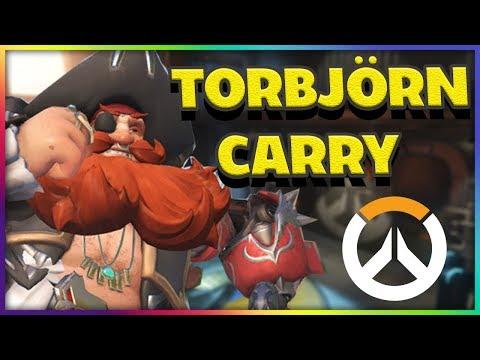 GALEN TORBJÖRN CARRY - Placement Competitive Overwatch  På Svenska med Tejbz thumbnail