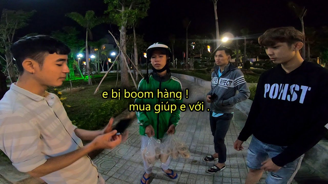 Giúp Đỡ Anh Chàng Shipper Tội Nghiệ.p Bị B.o.o.m Hàng ( PT-Vlog44# )