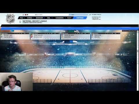 I sim my NHL Career | Franchise Hockey Manager 5 |