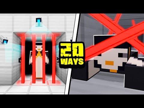 20 Ways to Escape Prison in Minecraft