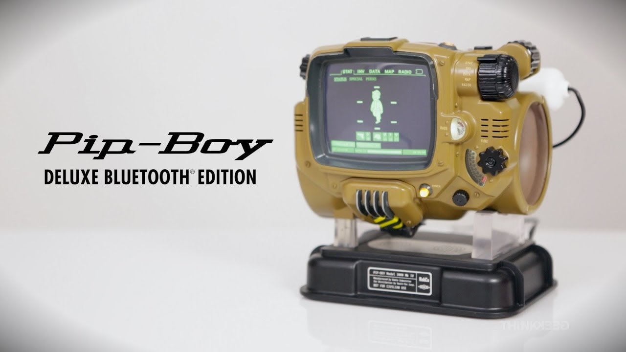 iphone pip boy get the pip boy 3000 deluxe bluetooth edition 8453