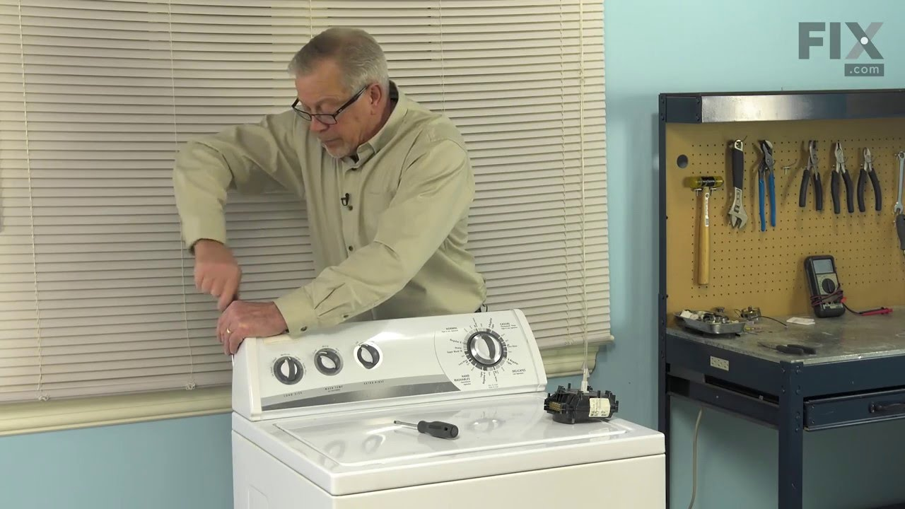 Whirlpool Washer Repair  U2013 How To Replace The Timer