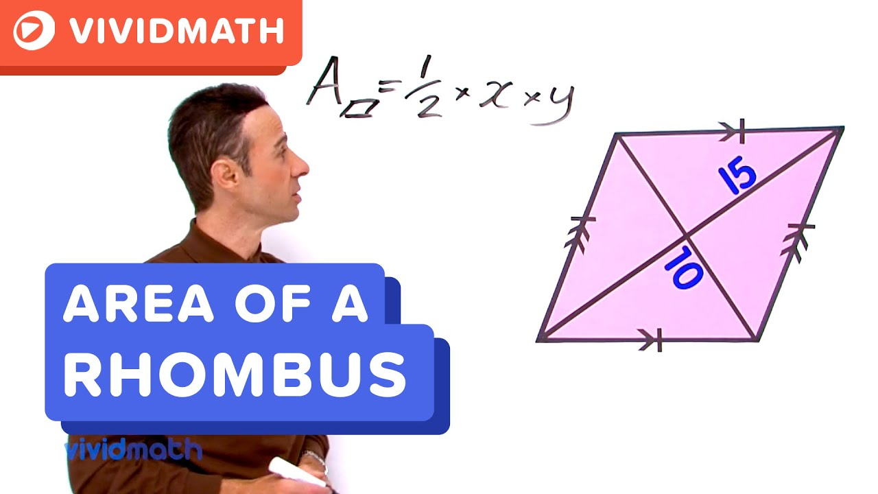 Area Of Rhombus (examples, solutions, videos) Intended For Area Of Rhombus Worksheet