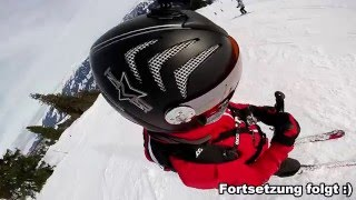 Skifoan im Januar 2016 in Mayrhofen im Zillertal (GoProHD) - Funny Skiing in the Alps Austria
