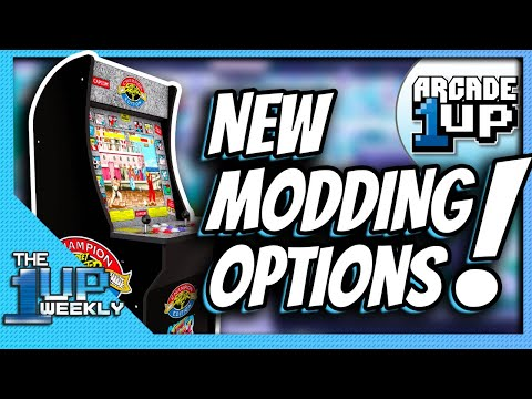 Let's talk about Arcade1Up Modding | The 1up Weekly from The1upWeekly