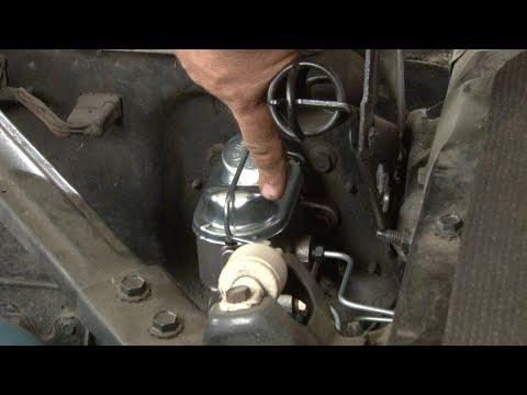 Mustang Dual Bowl Brake Conversion 1965-1966 Installation - YouTube