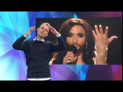 Conchita Wurst - Rise Like A Phoenix - (Sign language edition) - Eurovision 2014 - Austria