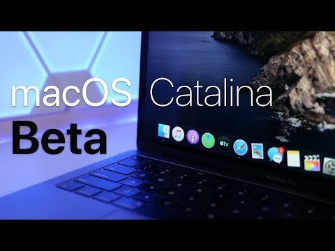 macOS Catalina Beta 1 – What's New?