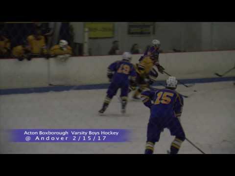 AB Boys Ice Hockey vs Andover 2/15/16
