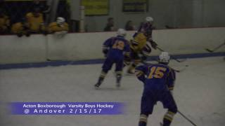AB Boys Ice Hockey vs Andover 2/15/16