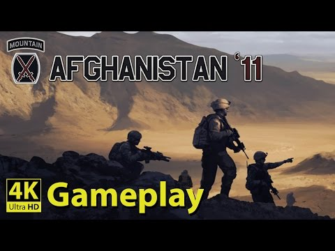 Afghanistan '11 - 4K GAMEPLAY [The Events after 9/11]