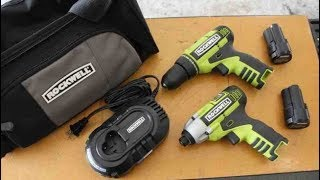 Rockwell 3/8 Impact Driver And Drill 12v combo Kit With Charger