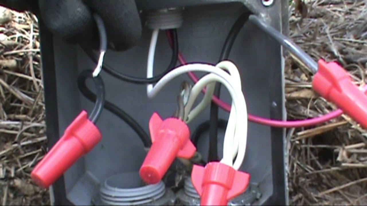 medium resolution of lights stuck on bad photocell replaced