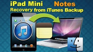 iPad Mini Deleted file recovery, Recover Deleted Notes from iPad Mini by File recovery software