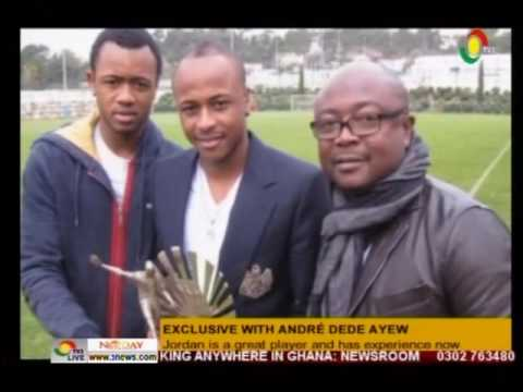 Exclusive interview with Black Stars Dept Captain Andre Dede Ayew - 4/7/2016
