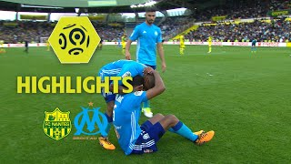 FC Nantes - Olympique de Marseille (0-1) - Highlights - (FCN - OM) / 2017-18