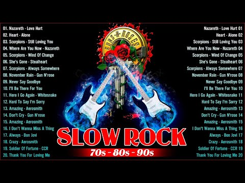 💗  Nonstop Slow Rock Love Songs Collection - 70s 80s 90s Slow Rock Love Songs 💖