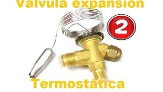 Refrigeración - Como regular válvula expansión  PARTE 2
