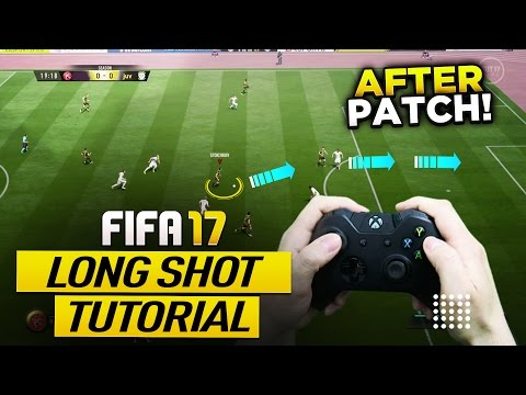 FIFA 17 AFTER PATCH MOST OVERPOWERED LONG SHOT TECHNIQUE TUTORIAL - HOW TO TAKE UNSAVEABLE SHOTS