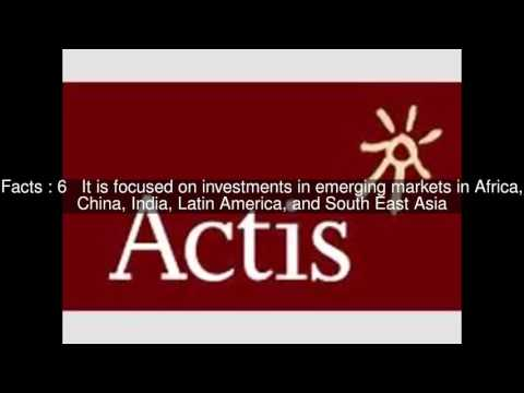 Actis Capital Top  #9 Facts