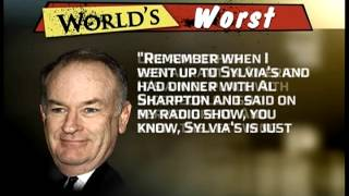 Worst Persons - Bill O'Reilly the Racist Clown - Countdown with Keith Olbermann