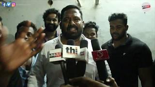 Director Siruthai Siva,Robo Shankar Joins Viswasam 50th Day Celebration With Thala Fans