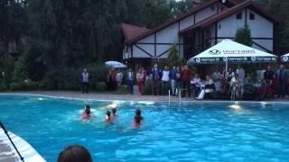 Водный балет Русалочки