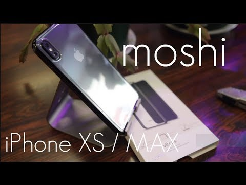 pretty nice 46262 ec166 Slim, NON Yellowing, Clear Case - Moshi Vitros - iPhone XS / MAX - Hands on  Review