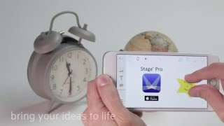 Stage Pro App for iPhone - Make interactive videos anytime & anywhere