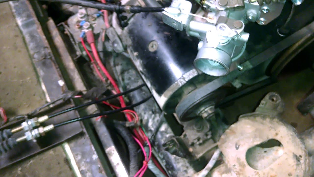 Yamaha G2 Golf Cart Engine Help