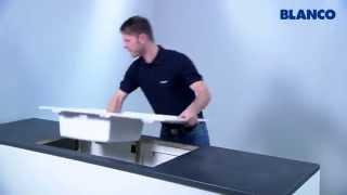 видео Мойка кухонная Blanco Classic 9E (521338) Антрацит. Купить кухонную мойку в Алматы, гранитные мойки