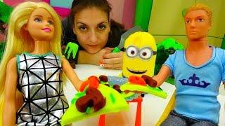 Детские игрушки: пицца из ПлейДо. Игры для детей