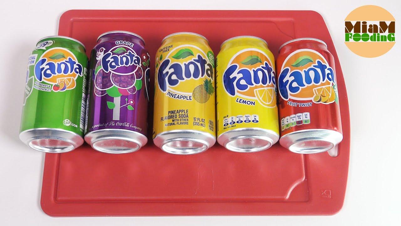 soda 5 fanta framboise passion raisin ananas fruit
