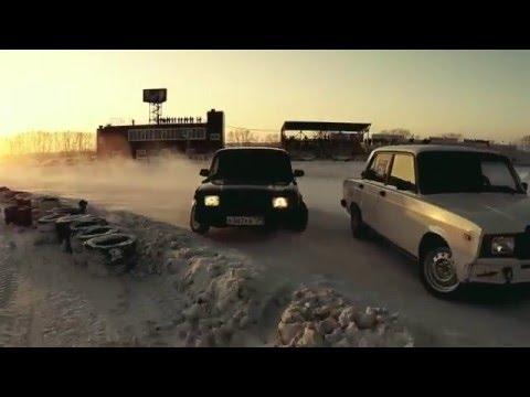 Lada snow drift hd (Drift in USSR HD) 2016 no music pure sounds