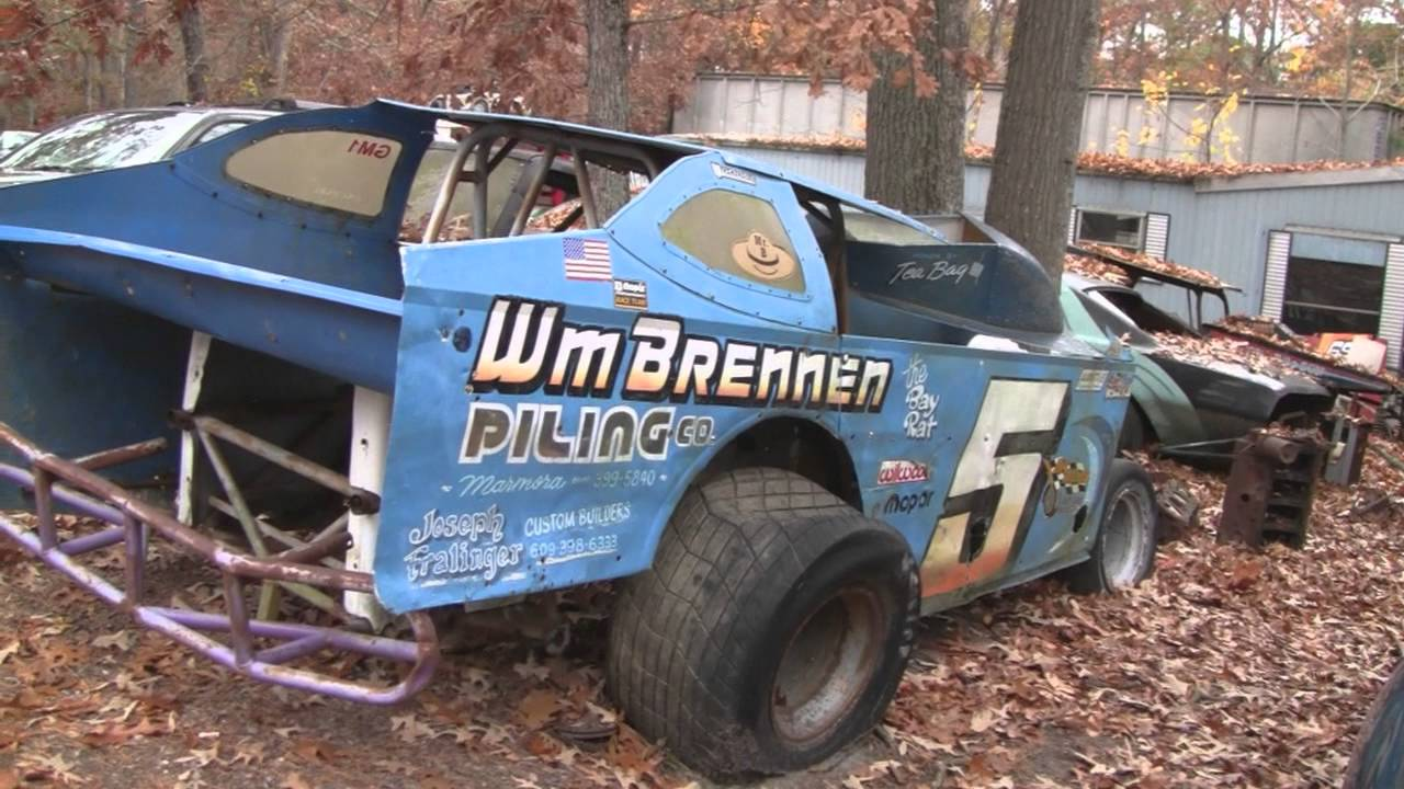 OLD STOCK CAR RACING MUSEUM - YouTube