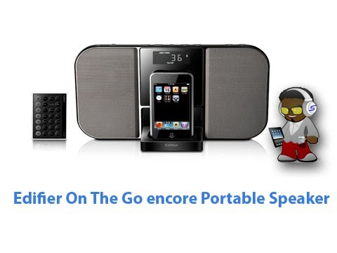 Edifier On The Go Encore Portable iPhone Speaker