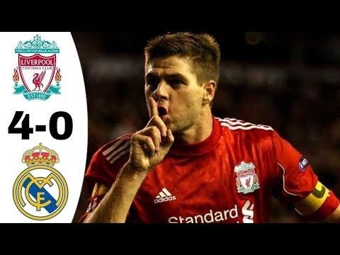 Liverpool vs Real Madrid 4-0 | Goals & Extended Highlights 2008/2009