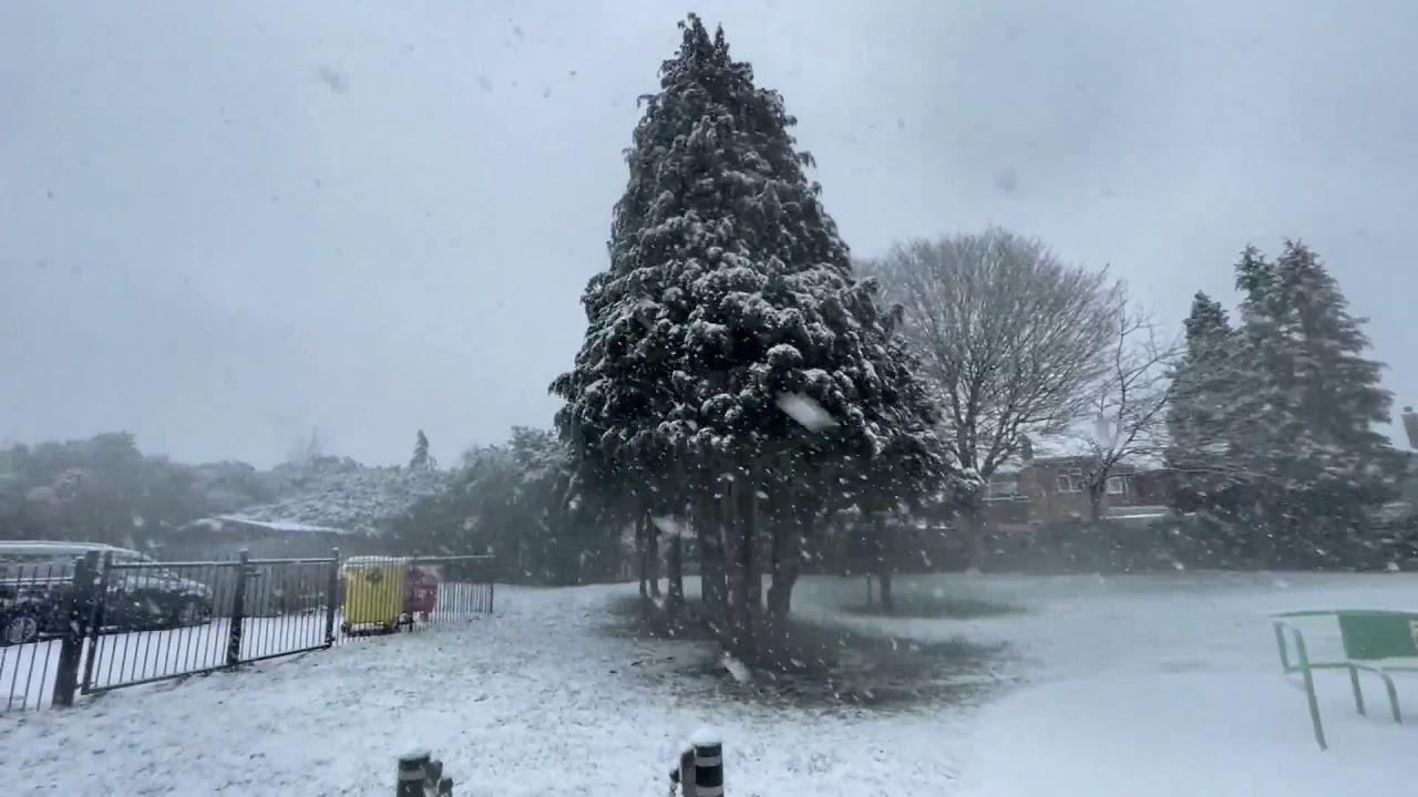 Ninge ca-n povesti ❄️ South East London Heavy Snow Walk 2021