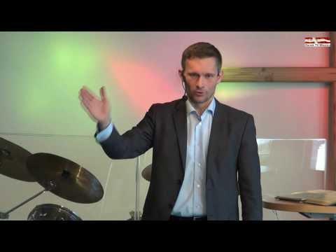 Guds Ord sætter fri, tale af Simon Marker Pedersen.