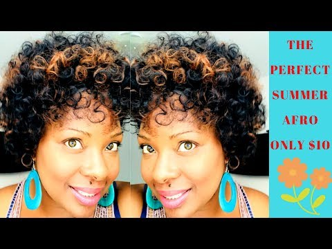 MOST NATURAL AFRO ONLY $10 | VENUS JENNY | ELEGANT BEAUTY SUPPLY