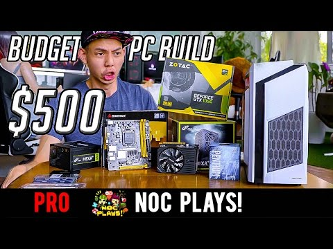 NOC Plays Builds SGD500+ Budget Gaming PC