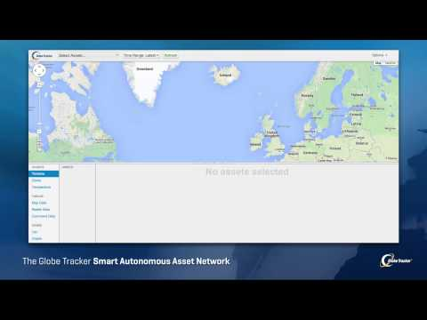 The Globe Tracker - Smart Autonomous Asset Network