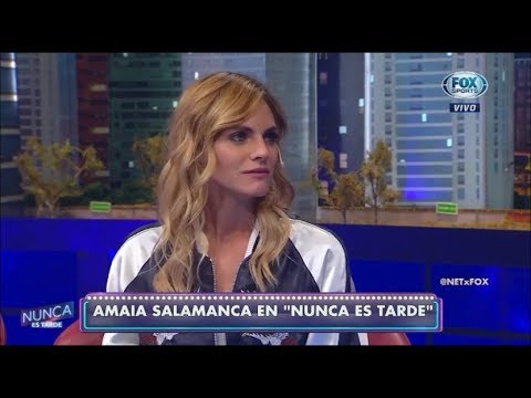 """Amaia Salamanca """"NET"""" """"Nunca es tarde"""" Entrevista completa 13/04/2018"""